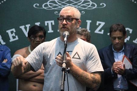 Alex Atala, chef premiado e um dos líderes do projeto