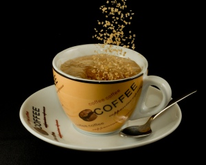 Café com açúcar em foto de Jon, janeiro de 2012
