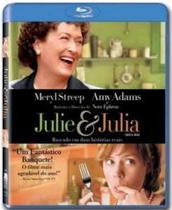 Blu-ray de Jule & Julia, na Saraiva, aqui