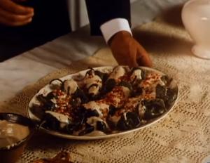 Prato servido no filme Como Água para Chocolate