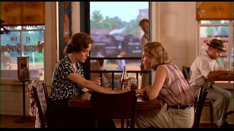 As personagens Ruth e Idgie em cena do filme