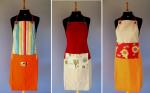 Aventais do vendedor Baú da Malú, um mais criativo e bonito que o outro, R$ 65, com mais opções para escolher, aqui