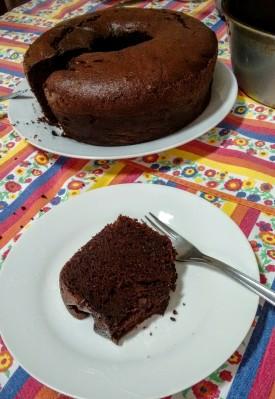 Bolo de chocolate Callebault 3