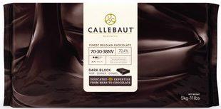 Chocolate em barra Callebaut, 5 quilos, zero lactose, a partir de R$ 219,90 na Feito Chocolate