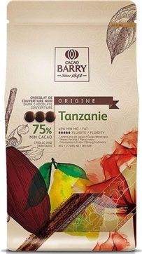 Chocolate Tanzânia 75% Amargo 1 kg Callebaut, R$ 78 na Maria Chocolate