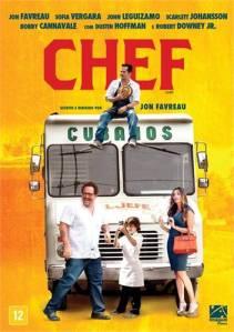 DVD do filme Chef, R$ 19,90 na Livraria Cultura, aqui