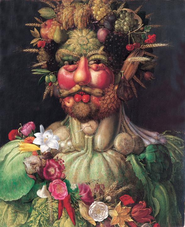 Vertemmnus, quadro de Giuseppe Arcimboldo que está no Castelo Skokloster, na Suécia