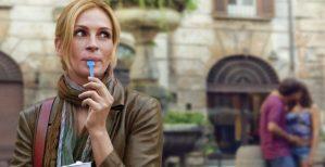 """Liz, escritora que é personagem principal de """"Comer Rezar Amar"""""""