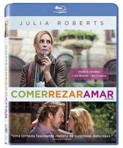 """Blu-ray de """"Comer Rezar Amar, R$ 29,90 na Saraiva, aqui"""