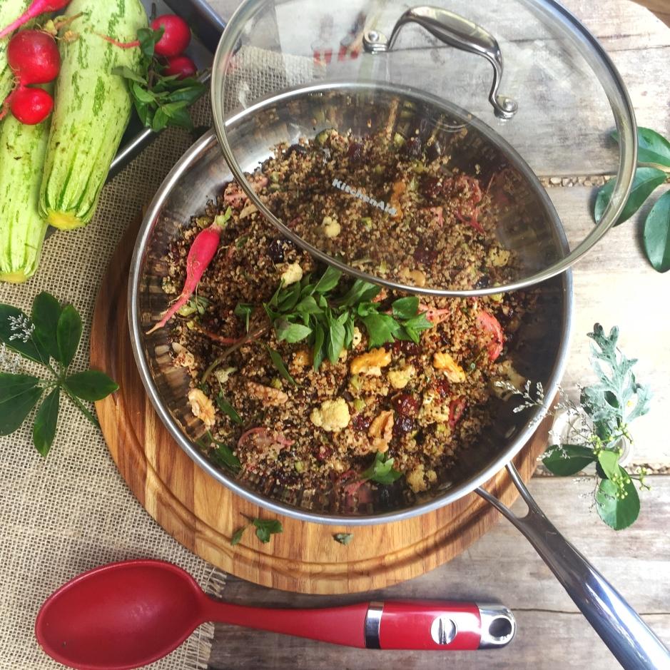 Cuscus vegano KitchenAid