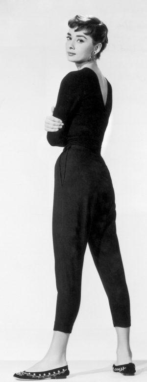Audrey Hepburn como Sabrina