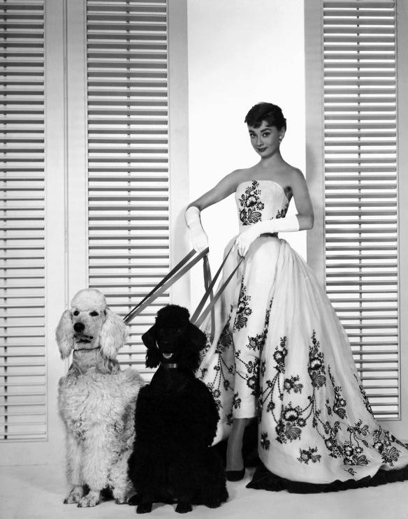 Audrey Hepburn, a estrela do filme 'Sabrina' (1954)