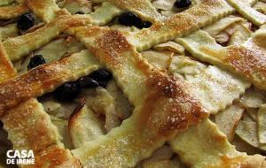 Delícia de torta de maçã