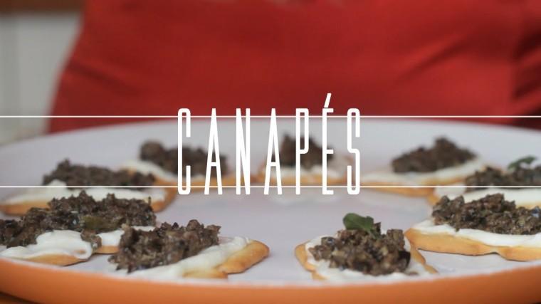 Canapés em foto do site Tastemade Brasil